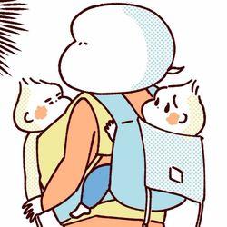 【ふたご育児】第33話 双子の運び方0・1・2歳