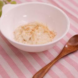 レンジで簡単!きな粉パン粥レシピ
