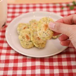 手づかみ食におすすめ!しらすおやきのレシピ