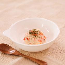 離乳食中期におすすめ。マヨネーズを使わない簡単ポテトサラダ