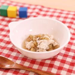 離乳食後期に。簡単!和風のナスの豆腐和え
