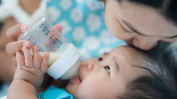 混合育児 1日のミルクの量