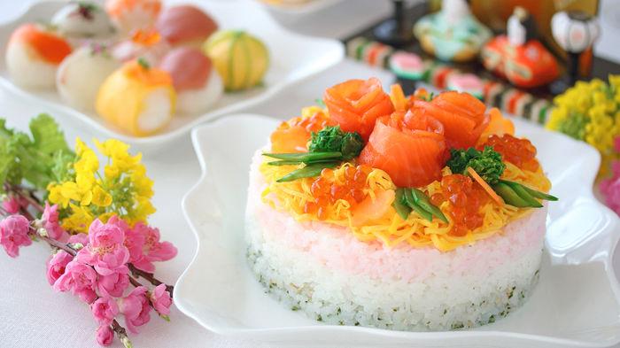 寿司 ひな祭り ちらし