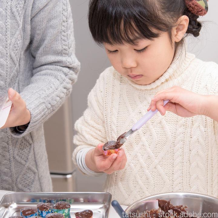 子どもといっしょに作るバレンタインレシピやラッピングの方法