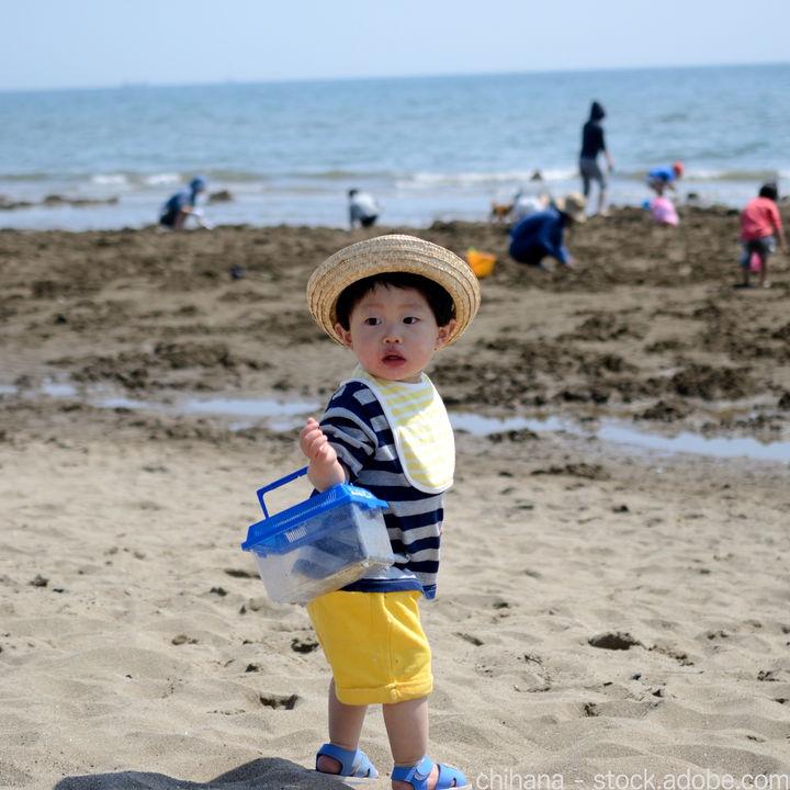 ゴールデンウィークに行く潮干狩り。服装や持ち物、貝がとれるポイント