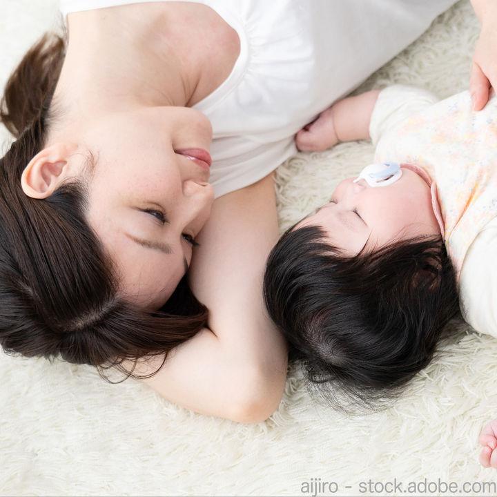 生後4カ月の赤ちゃんとの添い寝。添い寝をするときに心がけたこと