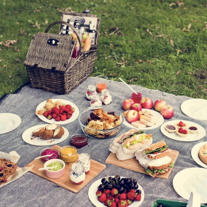 ピクニック時のフルーツメニューを用意したいとき