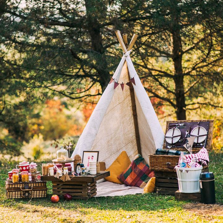 おしゃれなピクニックを楽しむグッズやお弁当メニュー