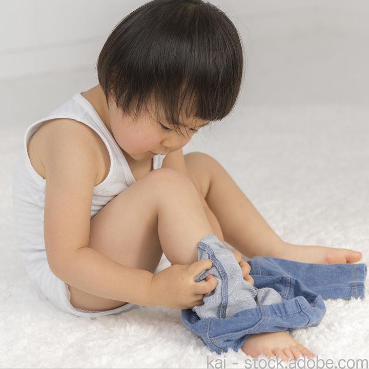 幼稚園に履いていくパンツ。選ぶポイントや意識したこと