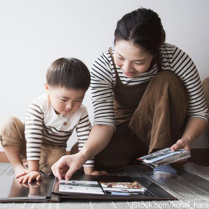 家族の素敵な思い出を残す手作りアルバム。作るポイントや使えるアイテム