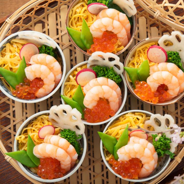 端午の節句のお祝いにおもてなし料理。目をひく料理・デザートのレシピ