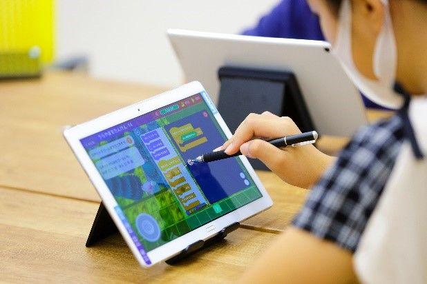Playgram™を活用した、やる気スイッチグループのプログラミング学習(イメージ)