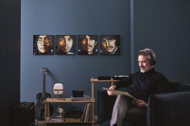 「レゴ®アート」ザ・ビートルズ(オープン価格)の壁掛けイメージ