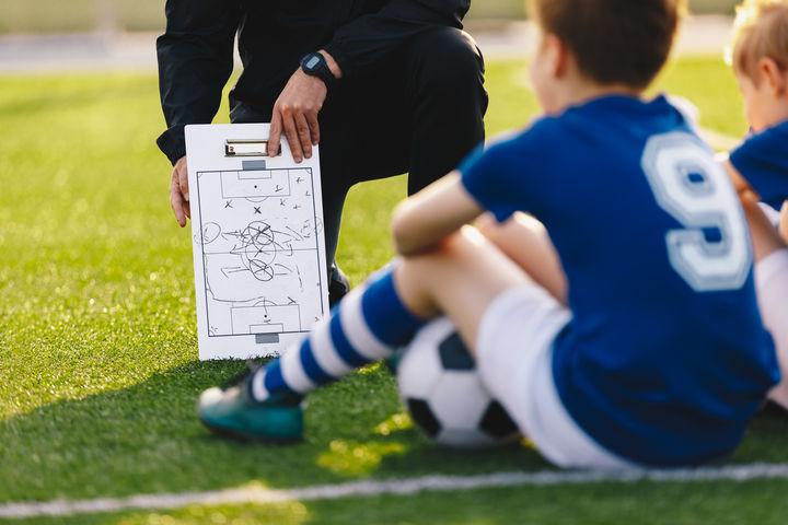 サッカー試合と戦略