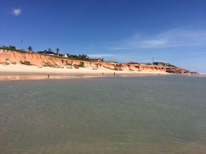 鈴木さんが住む、ブラジル北東部にある人口300人の小さな農漁村「カノア・ケブラーダ」