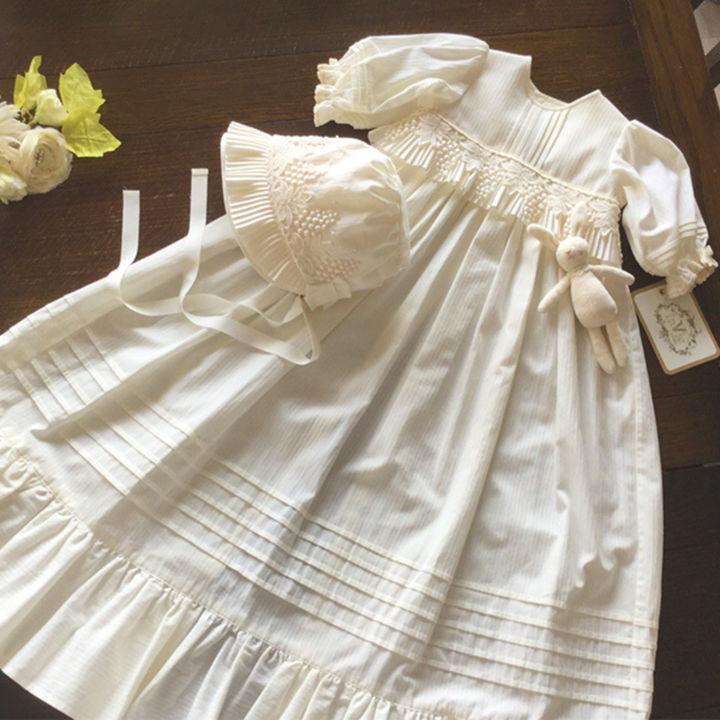 赤ちゃんの繊細な肌にやさしい。素材にこだわったベビードレス3選