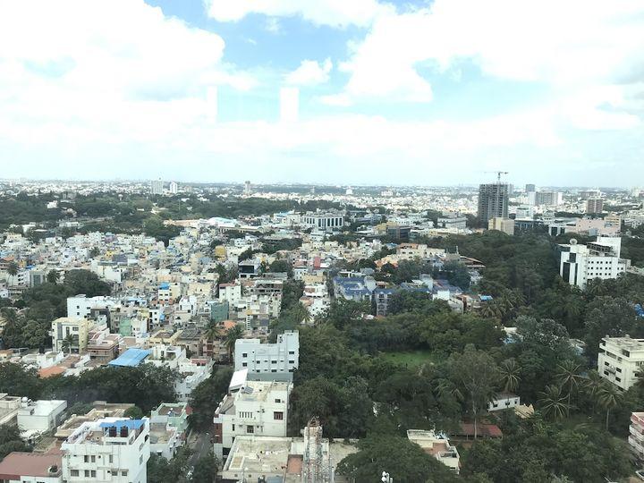 ベンガルール(旧名バンガロール)の街並み(提供:さいとうかずみさん)