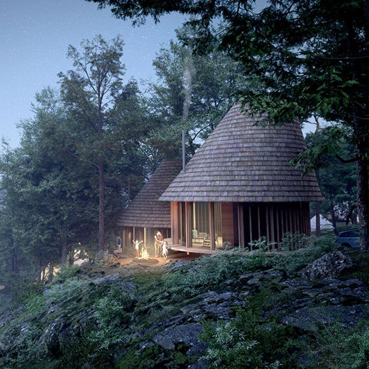 日本初!デンマーク発アウトドアフィールド「Hygge Circles UGAKEI by Nordisk」が2021年に開業