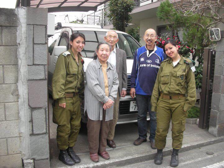 東日本大震災の際に医療支援として訪日したイスラエル軍(提供:木村リヒさん)