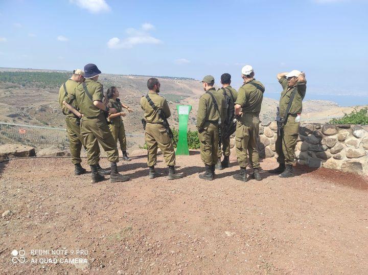 イスラエルの教育に欠かせない軍隊。兵役中に高卒認定を取る人も多い(提供:木村リヒさん)