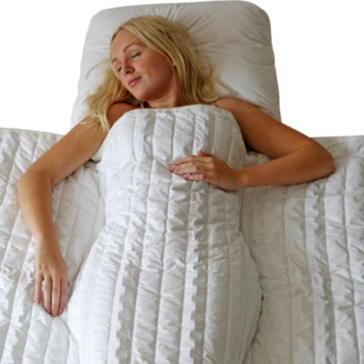 重いチェーン入りブランケットで精神疾患を抱える方の不眠が78%改善