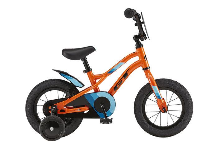 GT Runge 12 オレンジ、ほかブラックの2色展開 各23,800円(税抜)適応身長 86~102cm