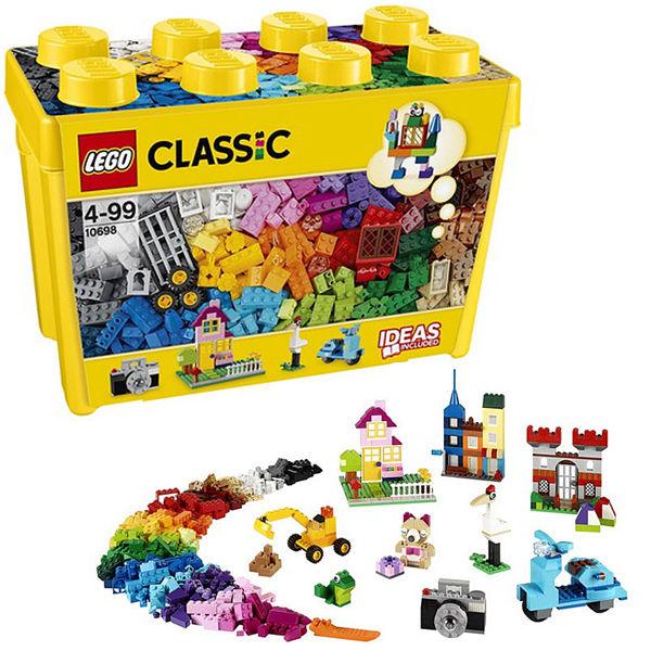 レゴ®クラシック 黄色のアイデアボックス10698