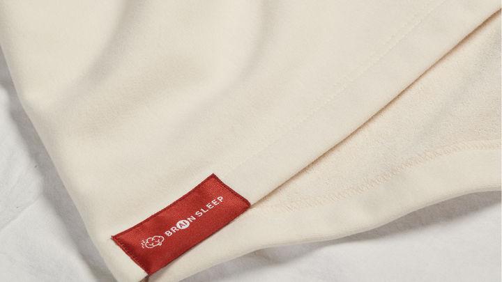 BRAIN SLEEP PILLOW オーガニックコットンピローカバー OFFWHITE 4,500円(税抜)