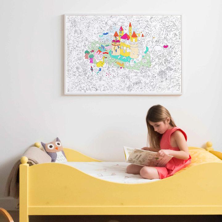 ボーネルンドからフランスOMY社の大型サイズの塗り絵遊具が発売
