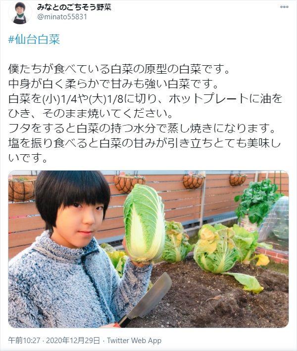 みなとのごちそう野菜@minato55831 投稿より