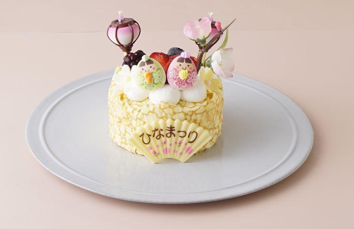 ひなまつり2021 ヨーグルトケーキ 9cm 3号 乳幼児向け 3,700円(税込)