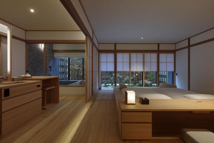 Azumi Setoda ベッドルーム (Photo by Tomohiro Sakashita)