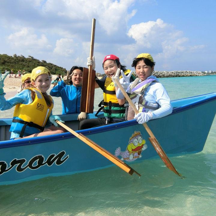 子どもだけの交流活動を行う探険学校が鹿児島 与論島で開催