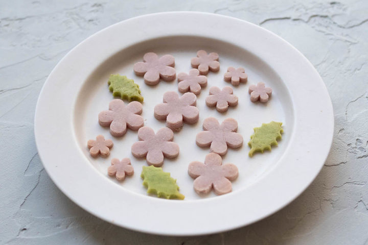 米粉のお花見クッキー 600円(税込)