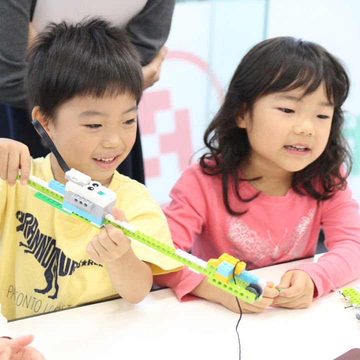 年中・年長対象のロボット&プログラミング授業「幼児コース」が新開講