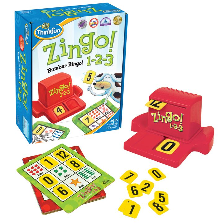 Zingo! 1-2-3(ジンゴ1-2-3) 4,070円(税込)
