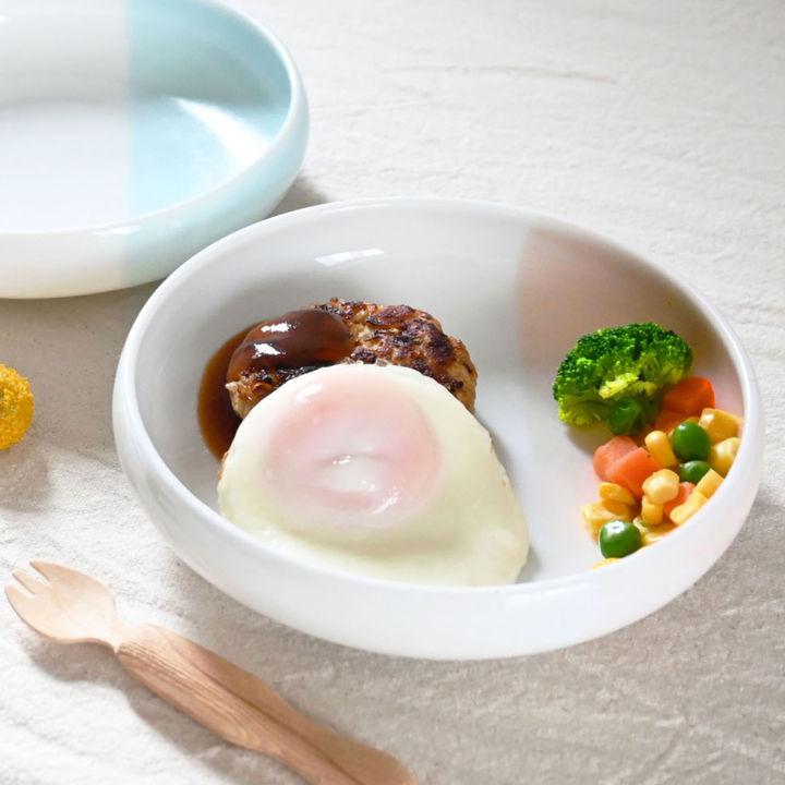 子どもが食べやすい美濃焼ワンプレート皿「nicotto」が新発売