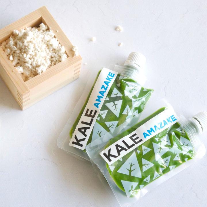 KALE FARMから新作ケールジュース「ケール甘酒」が発売中