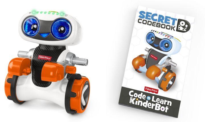 プログラミングロボ キンダーボット 11,000円(税込)対象年齢:3歳以上
