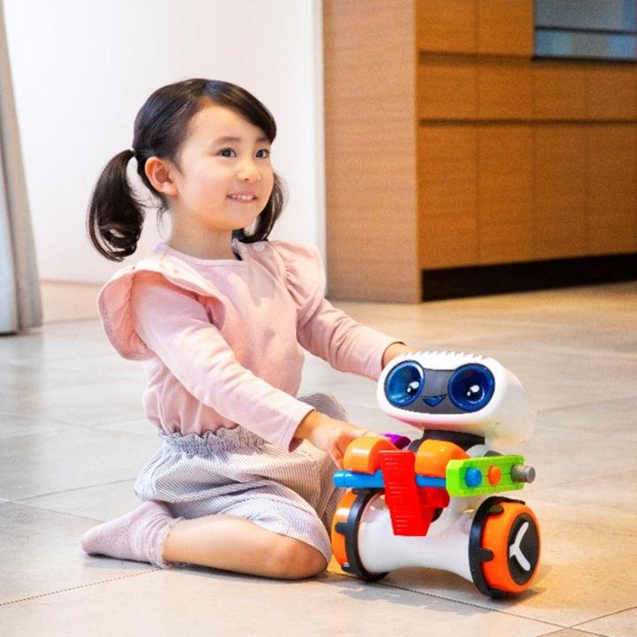 マテルより3歳から使用できるプログラミング知育ロボットが発売