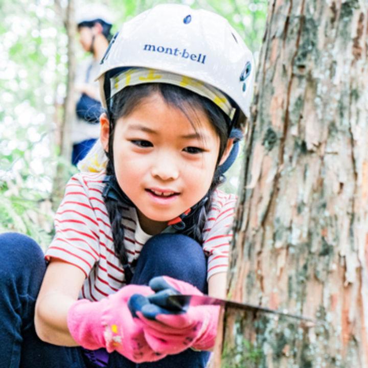東京でSDGsを楽しく学ぶ「木こり体験ツアー」が檜原村で開催