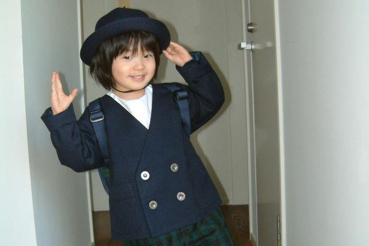 幼稚園生のSASUKEさん
