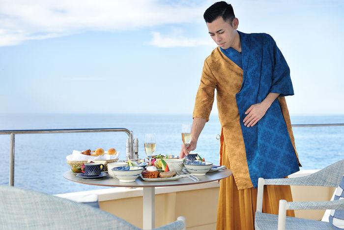 星のや 期間限定朝食プログラム