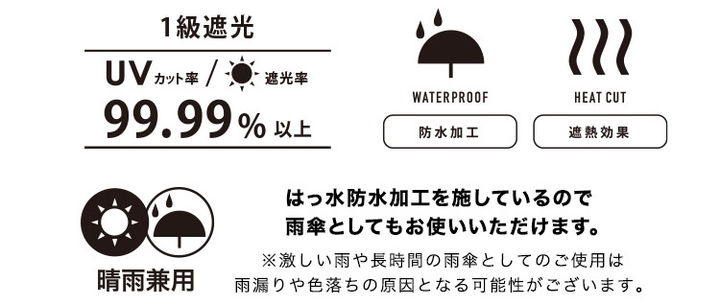 Wpc. キッズ日傘