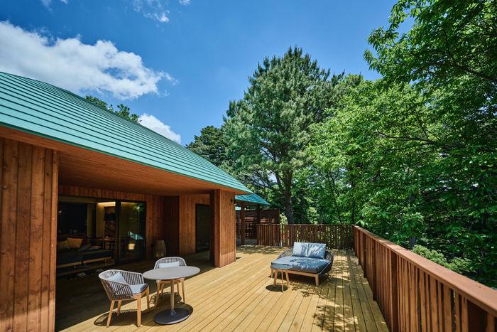 室内約123平方メートル、テラス90平方メートル以上のゆとりの広さ