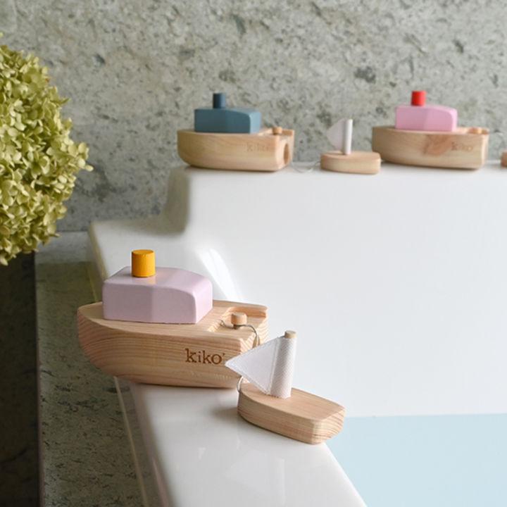 木製玩具ブランドkiko+のお風呂で遊べる新作おもちゃが先行予約販売中