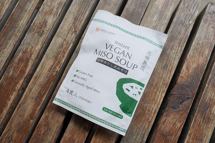 Instant VEGAN MISO SOUP 378円(税込)