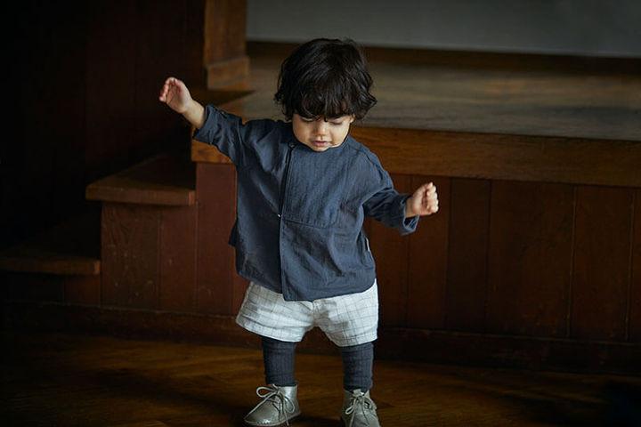 shirts−シャツ− size: baby 70-90cm 8,250円 / kids 100-120cm 8,800円 全3色( 1 bosom white/ 2 bosom beige/ 3 bosom navy)