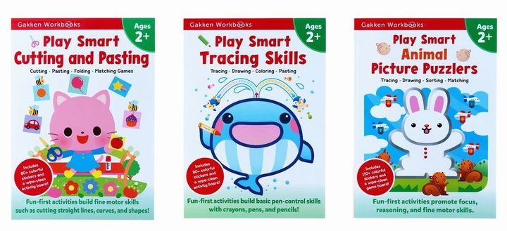 Play Smart Workbooks 2歳 きるはる&かく&どうぶつパズルセット