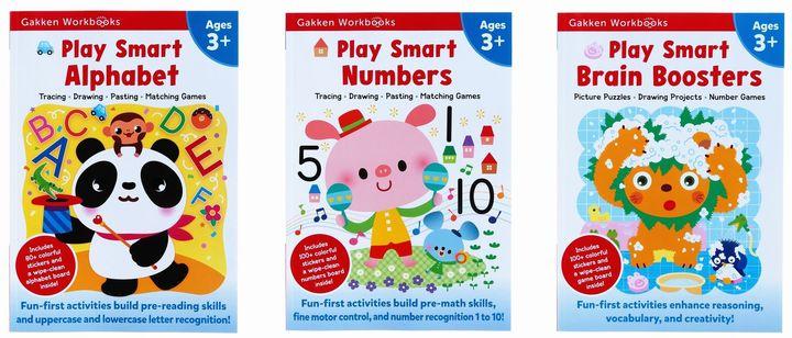 Play Smart Workbooks 3歳 ABC&すうじ&ちえのおけいこセット